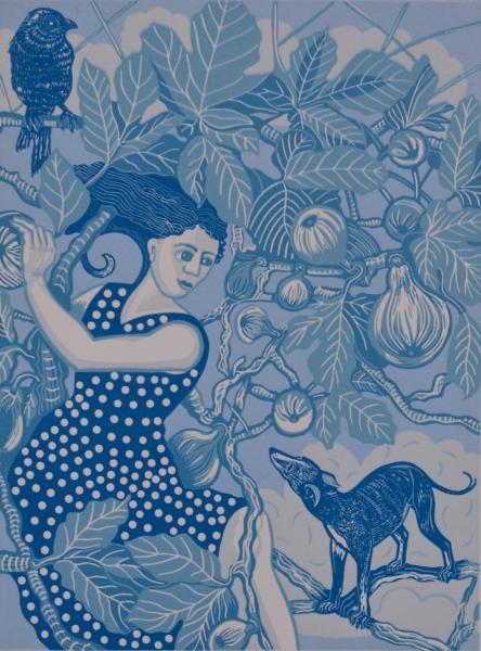 Pomona in the Fig Tree by Gwen Scott