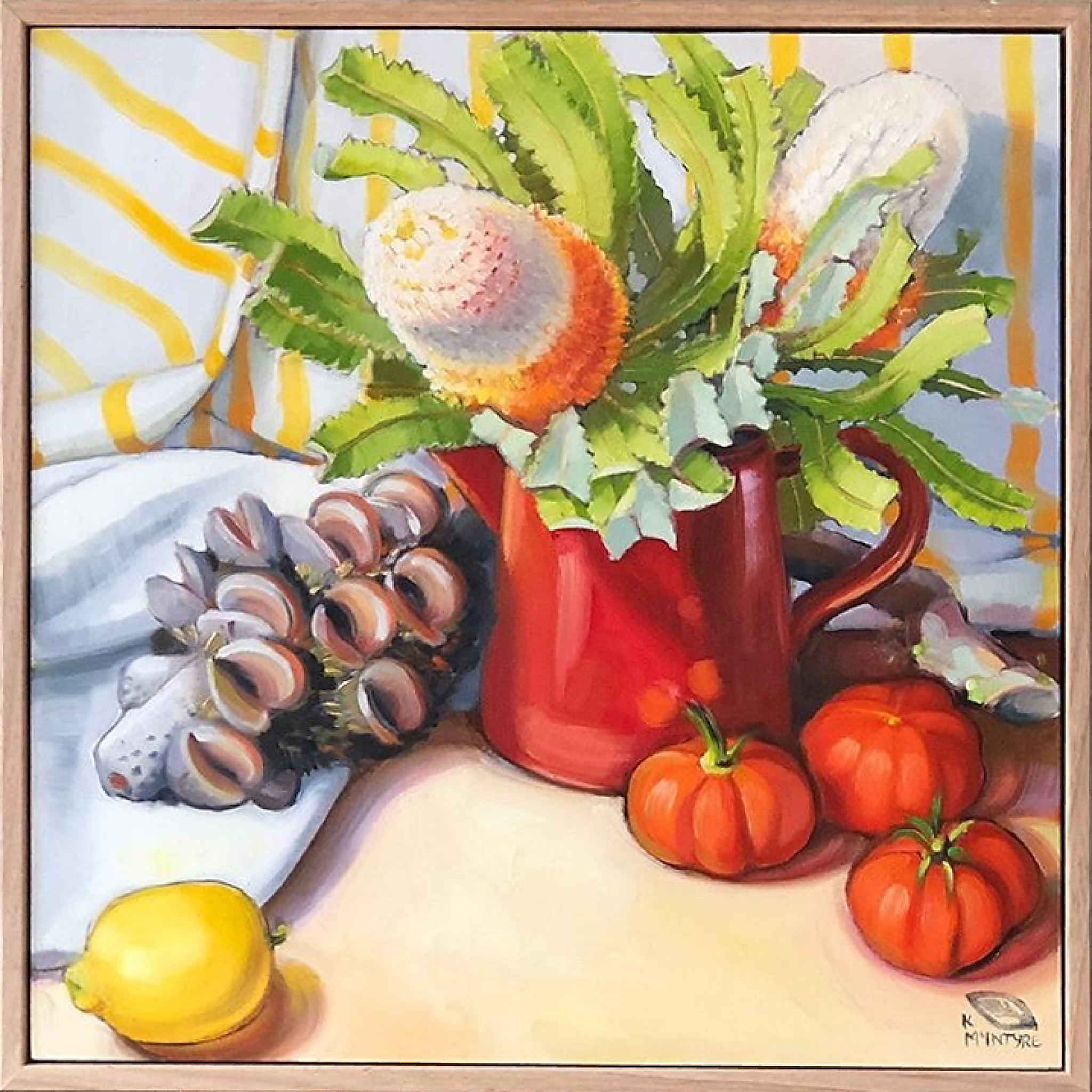 Banksias and Tomatoes II by Kirsty McIntyre