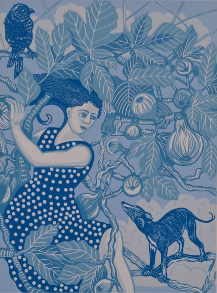 Pomona in the Fig Tree by Gwen Scott