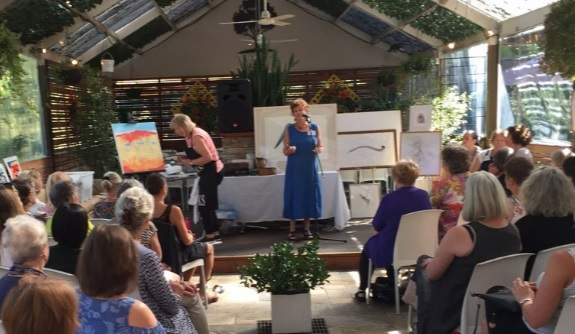 Ceramacist, tour guide and expo organiser, Jane Annois's exciting talk