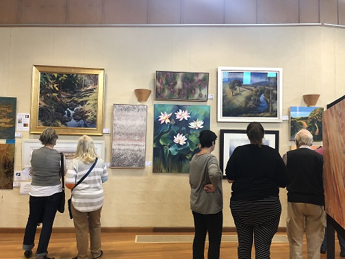 Collectable and beautiful works on display