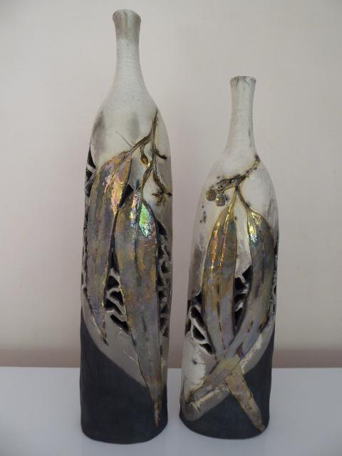 © Betty Mitlan - Pair bottles (Best Ceramic 2016)