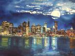 © Agnes Parcesepe - High moon New York