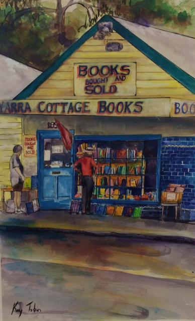 © Kay Tobin - Book shop Warrandyte