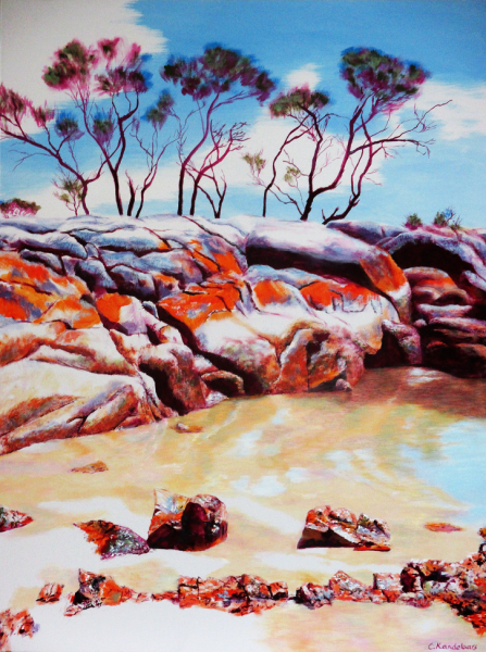 © Charlotte Kandelaars - Bay of Fires rocks