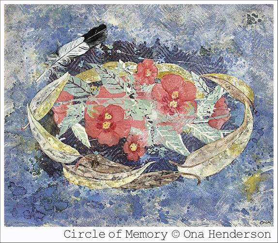 © Ona Henderson - Circle of memory
