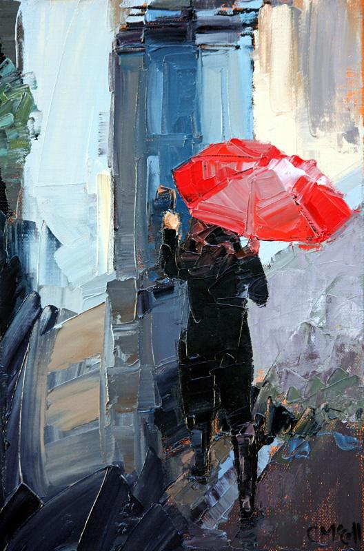 © Claire McCall - Red Umbrella