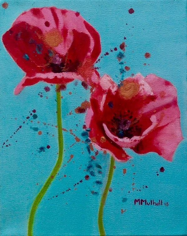 © Margaret Mulhall - Poppies for Henry