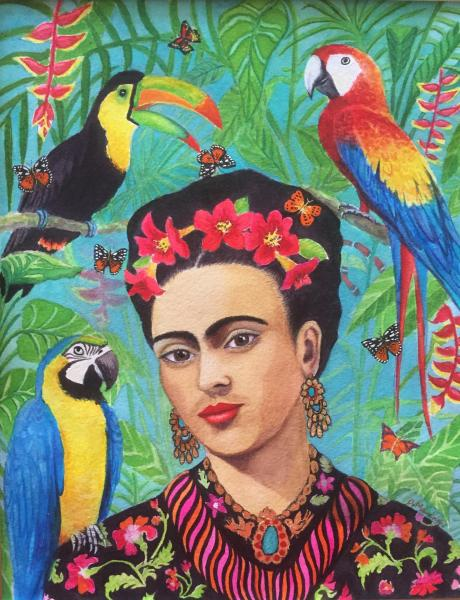 © Debra Mawdsley - Frida in the jungle