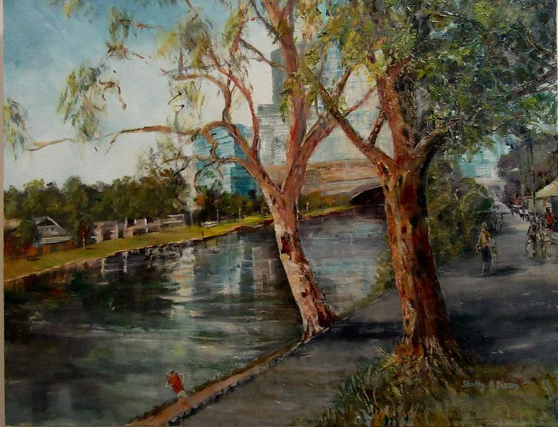 © Shirley A Dixon - Banks of the Yarra