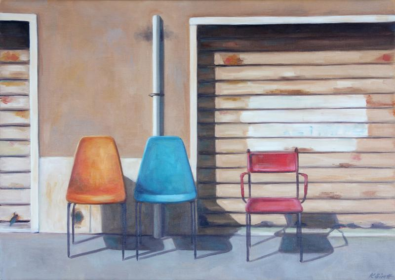 © Kylie Sirett (Three chairs, Best Still Life Award 2017)